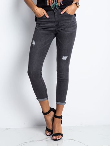 Ciemnoszare jeansy Dedicating