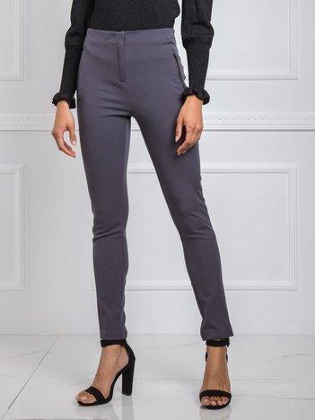 Ciemnoszare spodnie Bonnie RUE PARIS