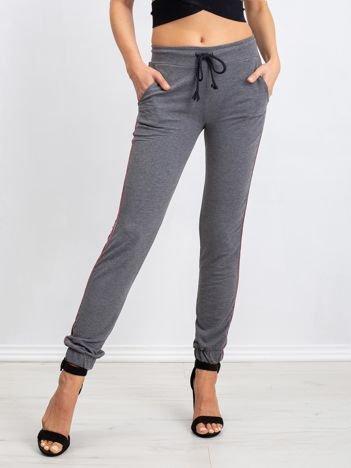 Ciemnoszare spodnie Mystery