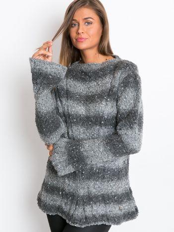 Ciemnoszary sweter Goes