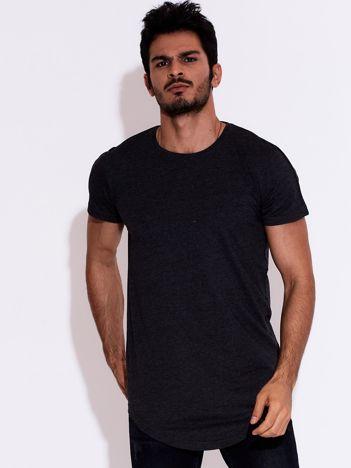 Ciemnoszary t-shirt męski basic