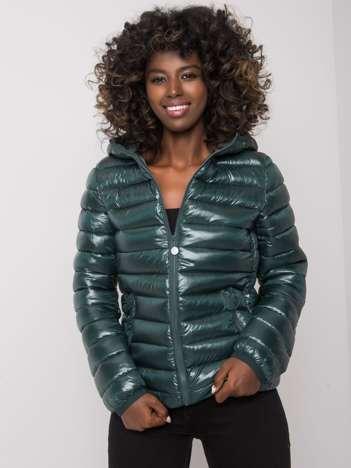 Ciemnozielona damska kurtka przejściowa Jaqueline