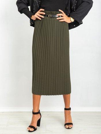 Ciemnozielona spódnica Tammy