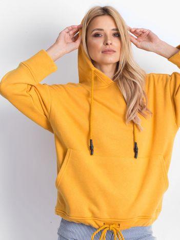 Ciemnożółta bluza Replicating