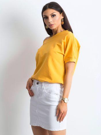 Ciemnożółta bluzka Lemontree