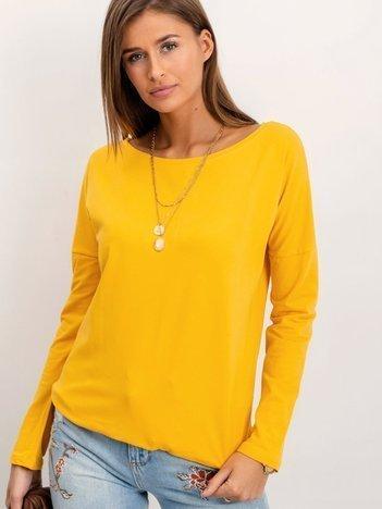 Ciemnożółta bluzka Selene