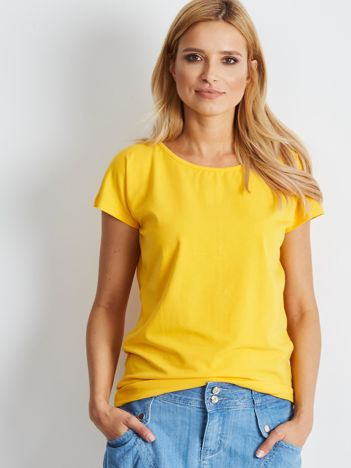 Ciemnożółty t-shirt Banana