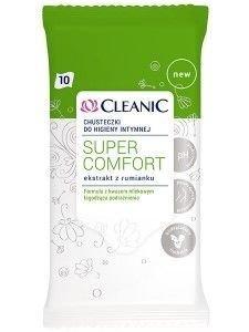 Cleanic Chusteczki do higieny intymnej Super Comfort  1op.-10szt.