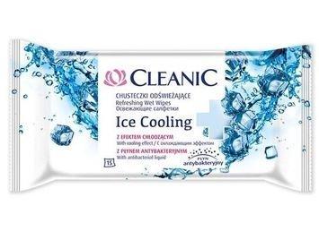 Cleanic Chusteczki odświeżające Ice Cooling  1 op.-15szt