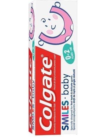Colgate Pasta do zębów dla dzieci Smiles Baby (0-2 lat) 50 ml