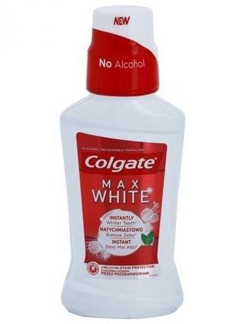 Colgate Płyn do płukania ust Max White Whiter Teeth  500ml