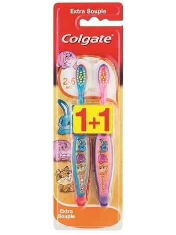 Colgate Szczoteczka do zębów DUO Uśmiech Malucha (2-6 Lat) 1 op.-2 szt.