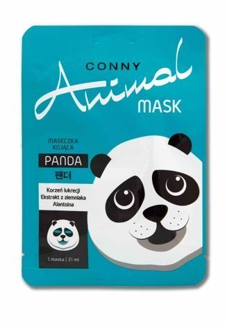 Conny Animal KOREAŃSKA Kojąca Maseczka Panda Conny 21 ml