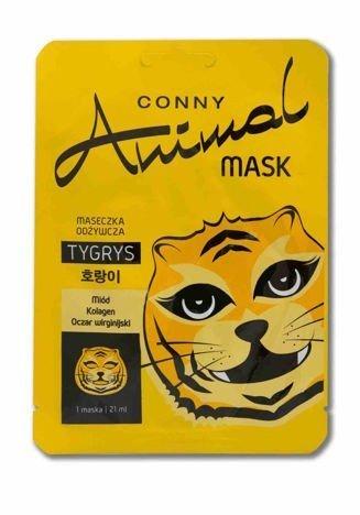 Conny Animal Odżywcza Maseczka Tygrys 21 ml