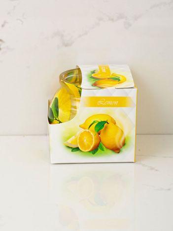 Cytrynowa świeca zapachowa