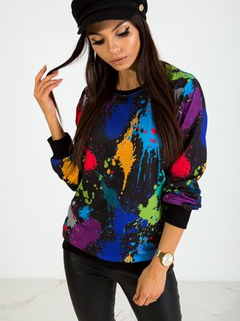 Czarna bluza Nevermind