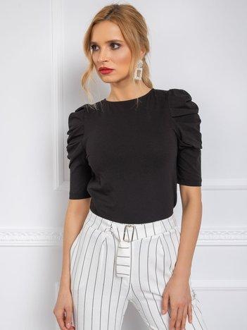 Czarna bluzka Alessandra