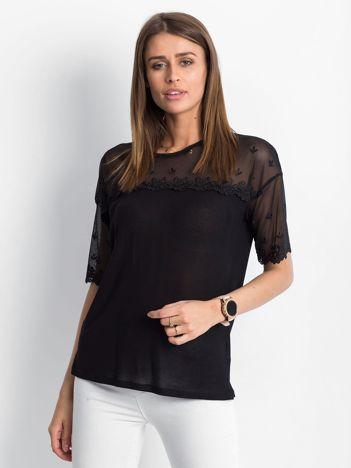 Czarna bluzka Attraction