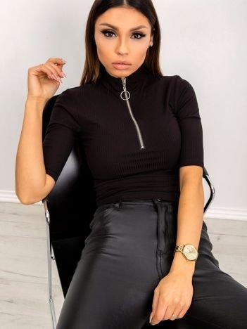 Czarna bluzka Harmony