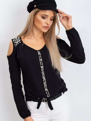 Czarna bluzka Shelby