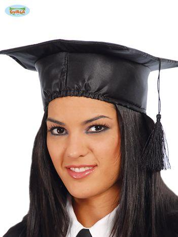 Czarna czapka Student