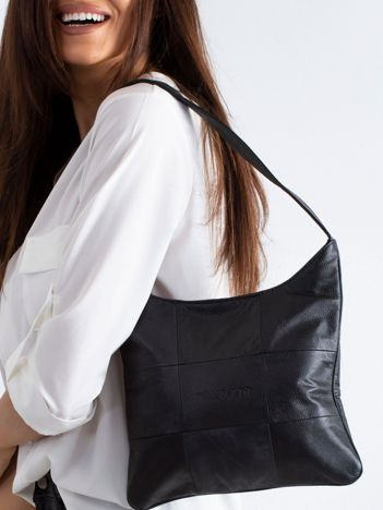Czarna damska torebka na ramię