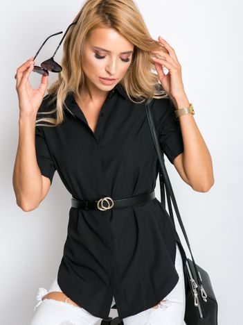 Czarna koszula Sharon