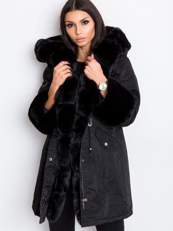 Czarna kurtka Frost