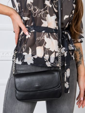 Czarna mała torebka damska