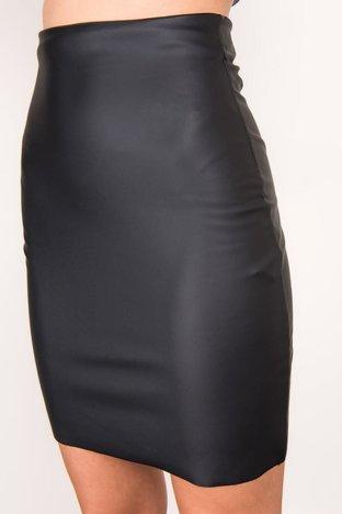 Czarna spódnica ołówkowa BSL