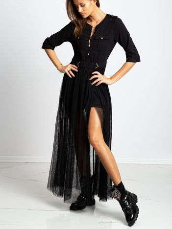 Czarna sukienka Claim