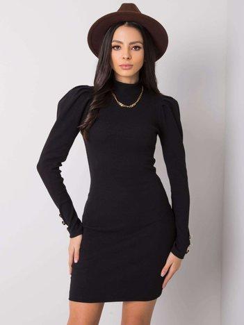 Czarna sukienka Constanza RUE PARIS