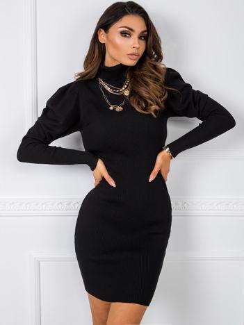Czarna sukienka Corinne
