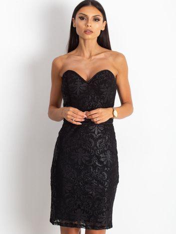 Czarna sukienka Diamond
