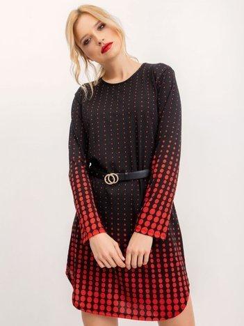 Czarna sukienka Dotted