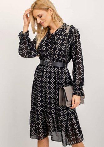 Czarna sukienka Gianna