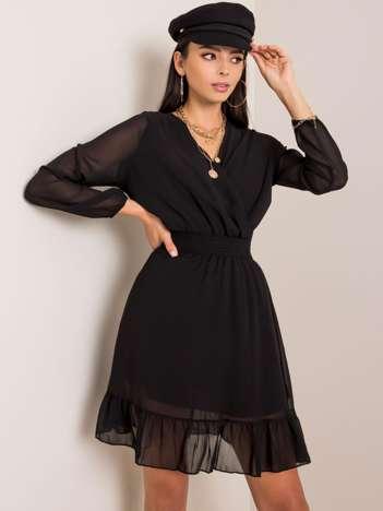Czarna sukienka Giovana RUE PARIS