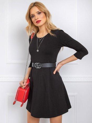 Czarna sukienka Leisa
