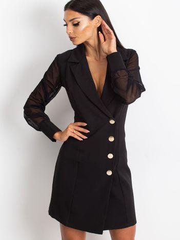 Czarna sukienka Master