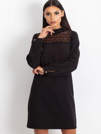 Czarna sukienka Molly