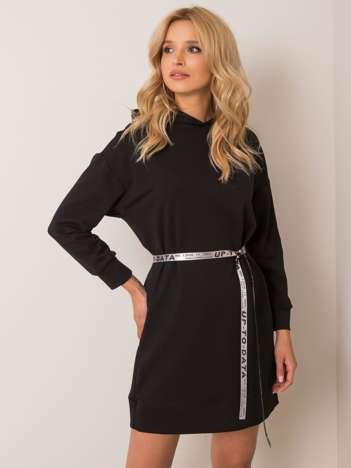 Czarna sukienka Nelly
