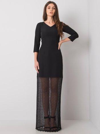 Czarna sukienka Rania