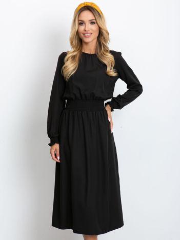 Czarna sukienka Saffire