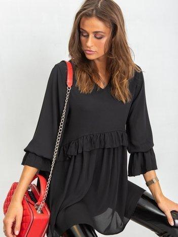 Czarna sukienka Starry
