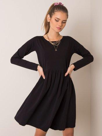 Czarna sukienka Vega RUE PARIS