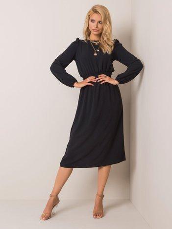 Czarna sukienka Vivien RUE PARIS