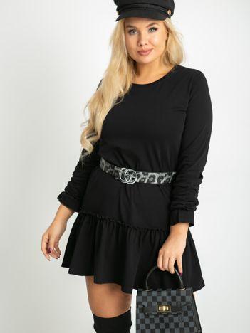 Czarna sukienka plus size Nancy