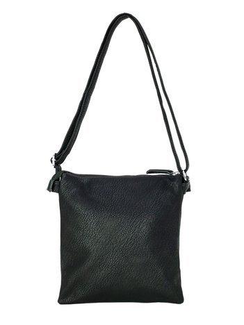 Czarna torebka z eko skóry