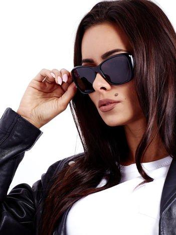 Czarne Damskie Okulary POLARYZACYJNE