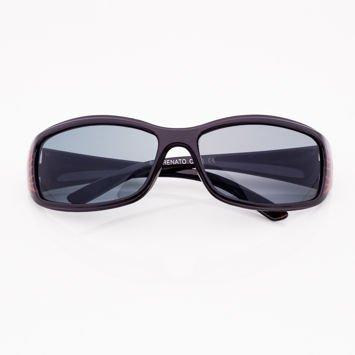 Czarne Dziecięce Okulary przeciwsłoneczne